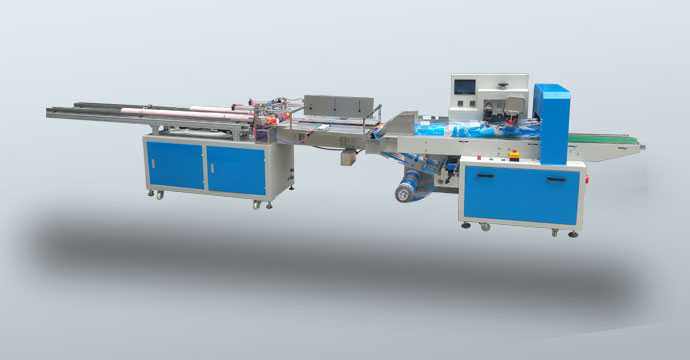 Paper cup packing machine(Double row)