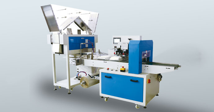Multi-pieces straw packing machine